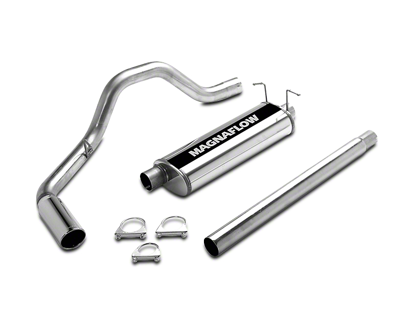 Magnaflow MF Series Single Exhaust System - Side Exit (97-03 4.6L)