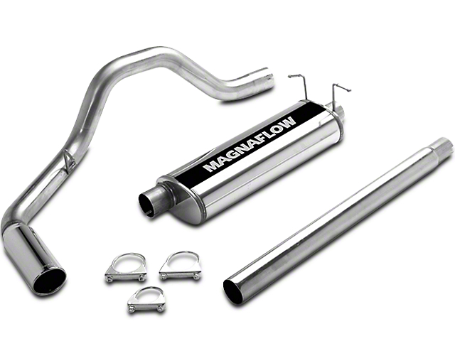 Magnaflow MF Series Single Exhaust System - Side Exit (97-03 5.4L F-150)