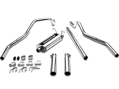 Magnaflow MF Series Cat-Back Exhaust - Split Rear Exit (97-03 4.6L)