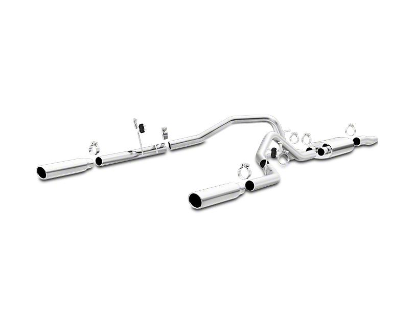 Magnaflow MF Series Cat-Back Exhaust - Split Rear Exit (04-08 4.6L)