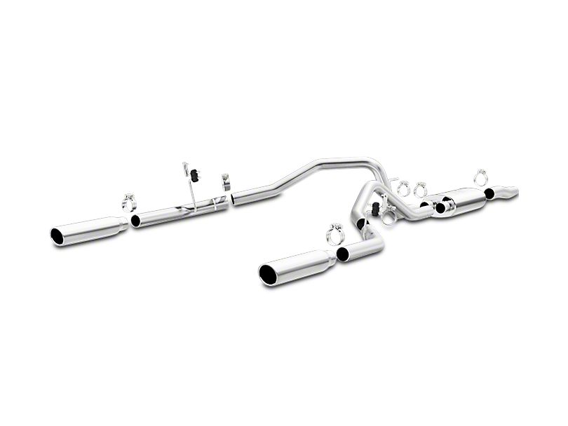 Magnaflow MF Series Dual Exhaust System - Rear Exit (04-08 5.4L)