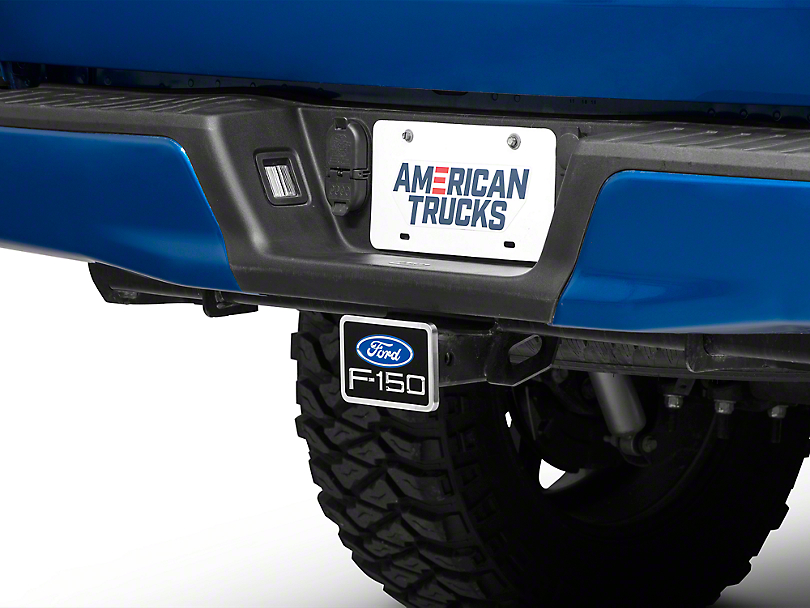 Premium Hitch Plug w/ Ford F-150 Logo (97-18 All)