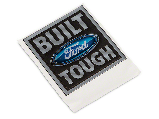 SpeedForm Embossed Truck Emblem - Built Ford Tough