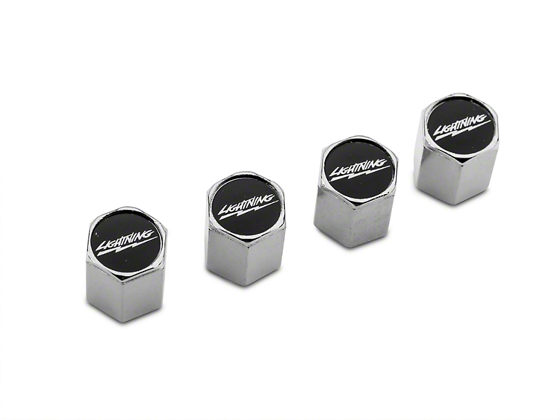 Modern Billet Lightning Valve Stem Caps (97-17 all)