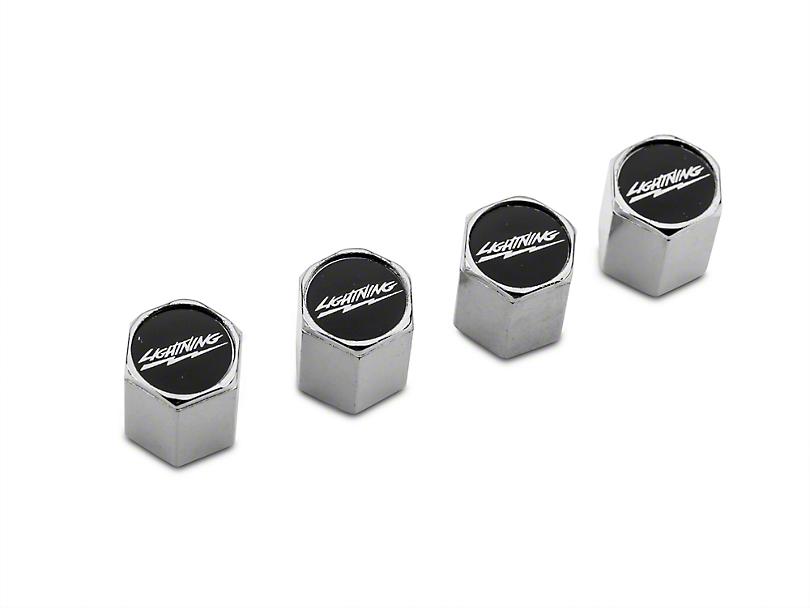 Modern Billet Lightning Valve Stem Caps (97-18 F-150)
