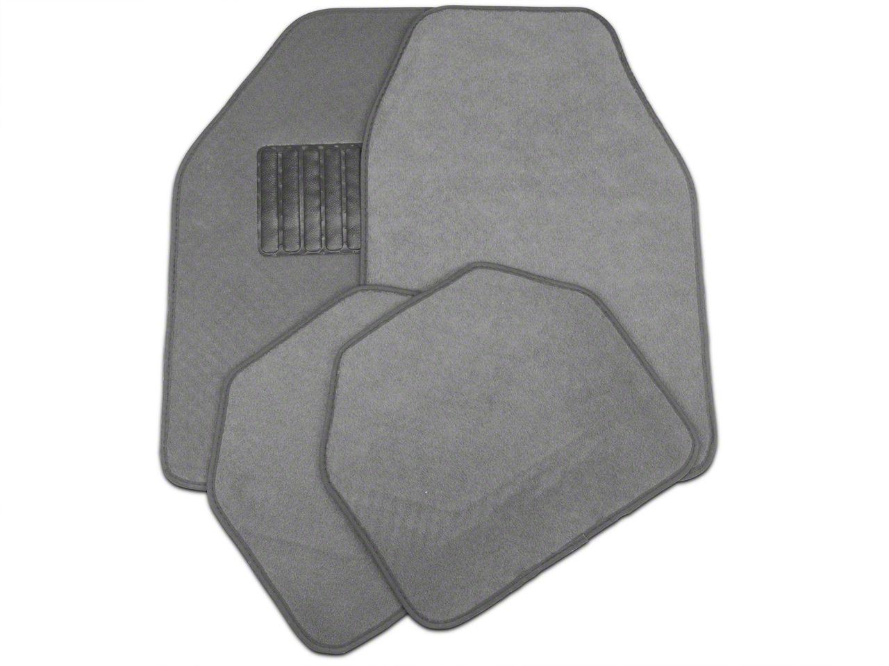 Trushield F 150 4 Piece Fabric Floor Mat Set Gray