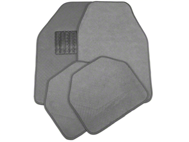TruShield 4-Piece Fabric Floor Mat Set - Gray (97-14 All)