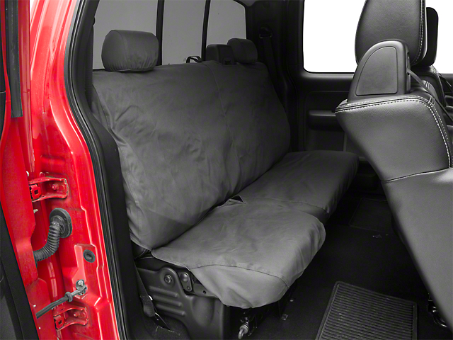 Covercraft Seat Saver 2nd Row Bench Seat Cover - Charcoal (04-08 F-150 SuperCab, SuperCrew)