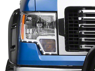 Putco LED Dayliner G2 Kit - Black Trim (09-14 F-150)