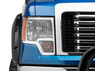 Putco LED Dayliner G3 Kit - Polished Trim (09-14 All)