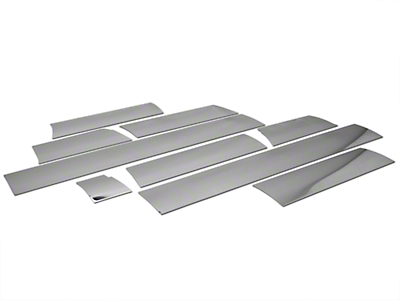 Putco Stainless Steel Rocker Panel Kit (04-08 SuperCrew 6.5' Bed)