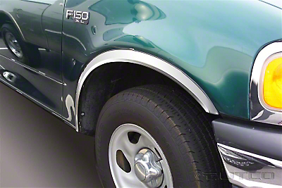 Putco Stainless Steel Fender Trim (99-03 Regular Cab, SuperCab)