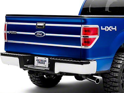 Putco Stainless Steel Tailgate Accent Trim (09-14 Styleside)