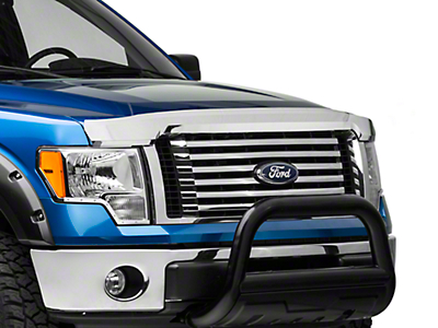 Putco Element Hood Shield - Chrome (09-14 All, Excluding Raptor)