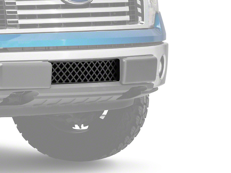 Putco Diamond Design Lower Bumper Grille Insert - Black (09-14 All, Excluding Raptor, Harley Davidson & 2011 Limited)