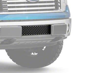 Putco Punch Design Lower Bumper Grille Insert - Black (09-14 All, Excluding Raptor, Harley Davidson & 2011 Limited)
