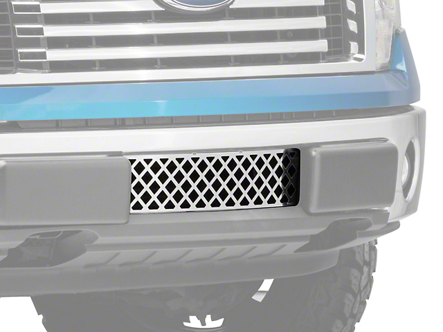 Putco Diamond Design Lower Bumper Grille Insert - Polished (09-14 F-150, Excluding Raptor, Harley Davidson & 2011 Limited)