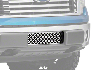 Putco Diamond Design Lower Bumper Grille Insert - Polished (09-14 All, Excluding Raptor, Harley Davidson & 2011 Limited)