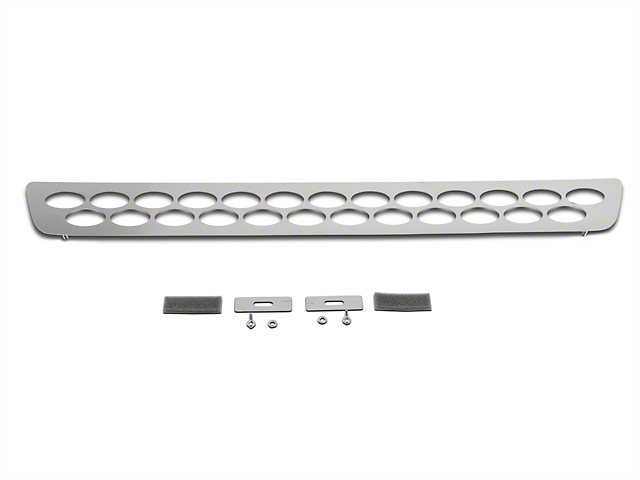 Putco Designer FX Oval Pattern Lower Bumper Grille Insert - Polished (04-05 All)