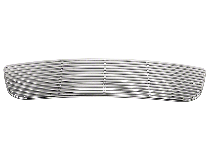 Putco Liquid Billet Upper Overlay Grille w/ Emblem Delete - Polished (99-03 w/ OE Honeycomb Style Grille)