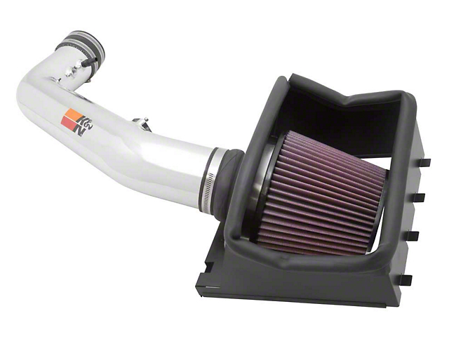 K&N Series 77 High Flow Performance Cold Air Intake (11-12 6.2L F-150, Excluding Raptor)
