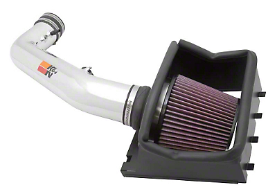 K&N Series 77 High Flow Performance Cold Air Intake (11-12 6.2L, Excluding Raptor)
