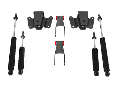 Max Trac 2 in. Front / 4 in. Rear Lowering Kit (97-03 All)