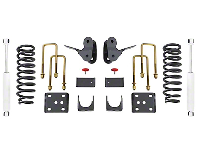 Max Trac Lowering Kit - 2 in. Front / 4 in. Rear (04-08 2WD/4WD)