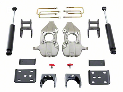 Max Trac Lowering Kit - 2 in. Front / 4 in. Rear (09-13 2WD/4WD, Excluding Raptor)