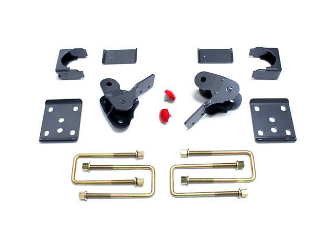 Max Trac Rear Lowering Kit w/ Hangers - 4 in. (09-13 2WD/4WD F-150, Excluding Raptor)