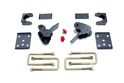 Max Trac Rear Lowering Kit w/ Hangers - 4 in. (09-13 2WD/4WD, Excluding Raptor)