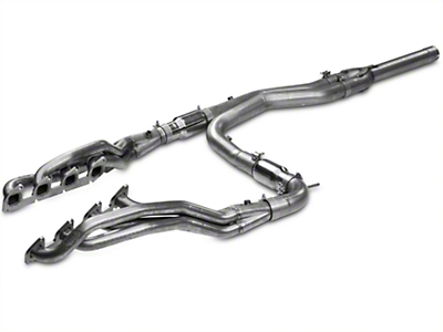 Stainless Works 1-7/8 in. Headers w/ Catted Y-Pipe - Factory Connect (11-14 6.2L F-150 Raptor SuperCrew)