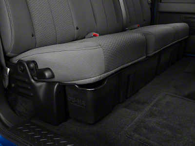 Underseat Storage - Black (09-14 F-150 SuperCab, SuperCrew)