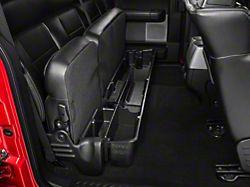 Underseat Storage; Black (04-08 F-150 SuperCab, SuperCrew)