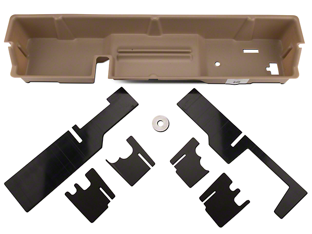 Underseat Storage - Tan (00-03 F-150 SuperCab)