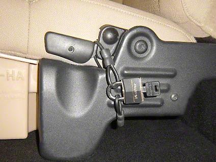 Under Seat Storage Lock Kit (04-14 F-150 SuperCab; 04-08 F-150 SuperCrew)