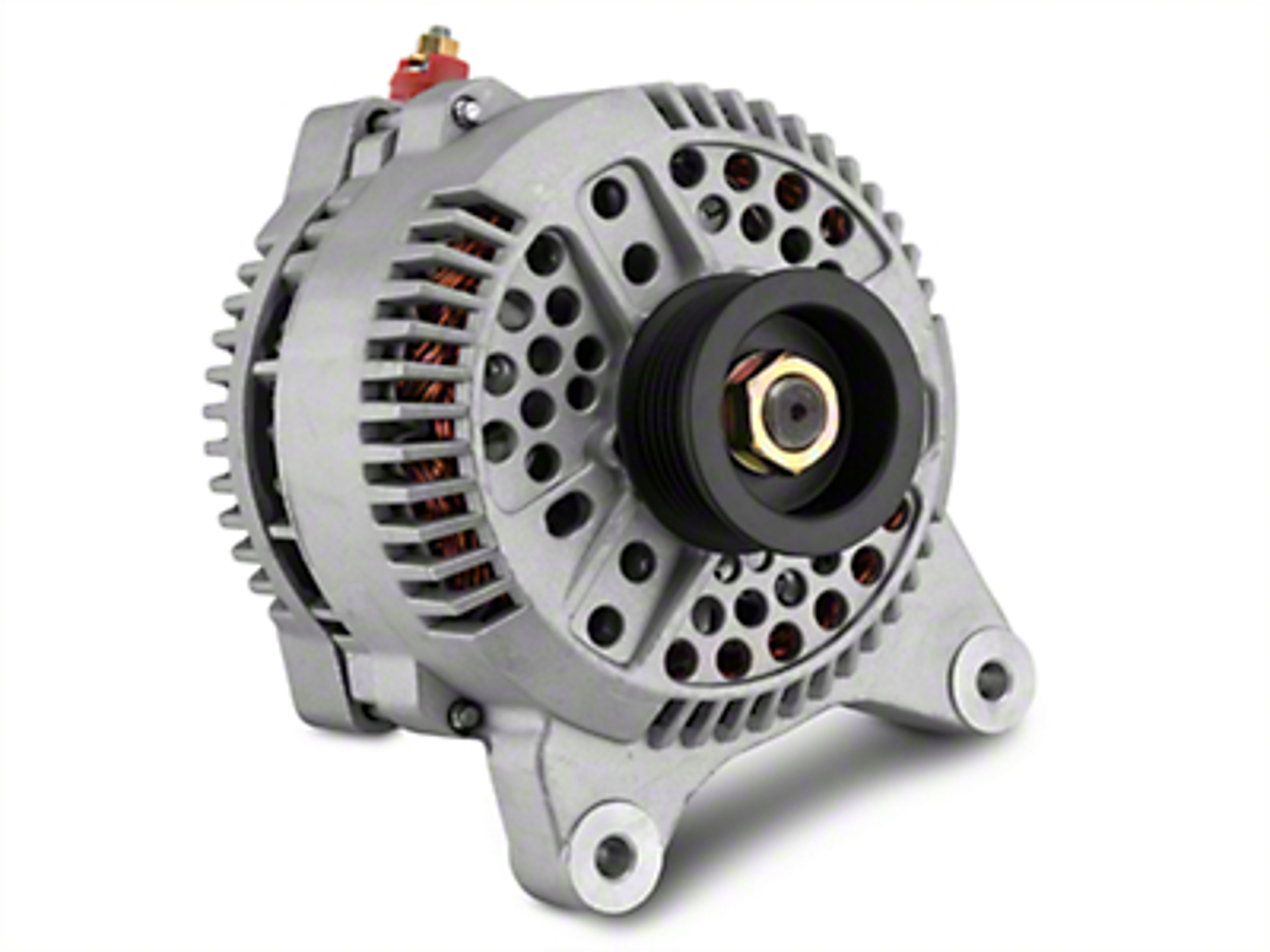 PA Performance High Output Alternator - 200 Amp (97-Mid 03 4.6L F-150; 97-03 5.4L F-150)