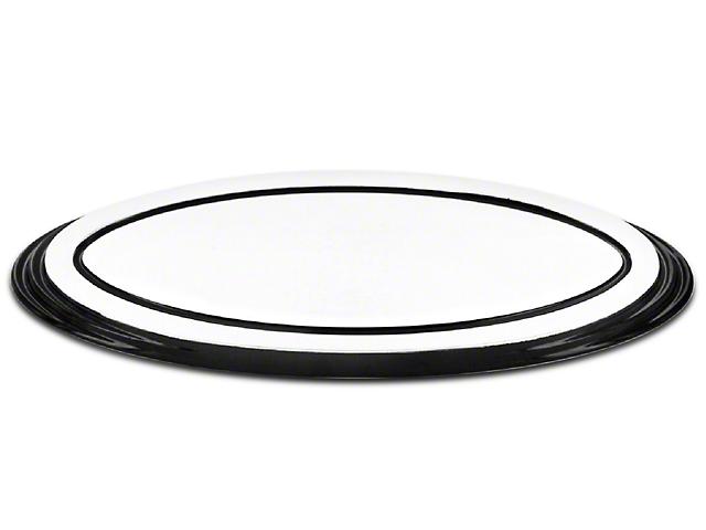 SpeedForm Oval Step Style Grille Emblem - Polished w/ Black Border (04-14 All)