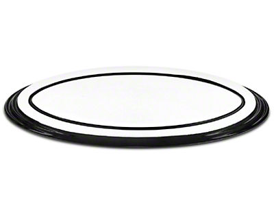 SpeedForm Oval Step Style Grille Emblem - Polished w/ Black Border (04-14 All)
