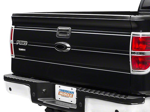 SpeedForm Oval Step Style Tailgate Emblem - Black (09-14 w/ Camera)
