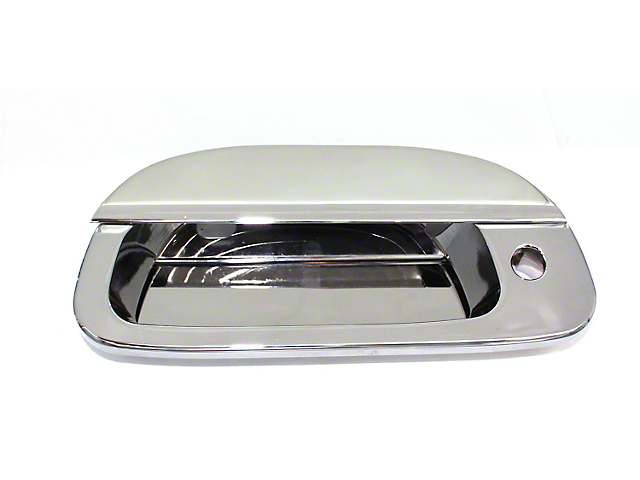 SpeedForm Polished Tailgate Handle Assembly w/ Lock (97-03 F-150)