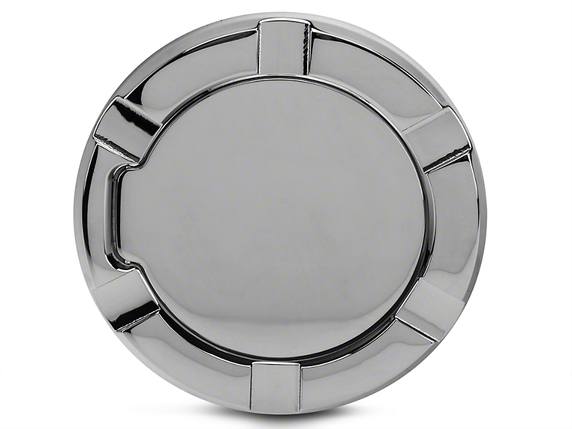 Modern Billet Non-Locking Striker Style Billet Fuel Door - Chrome (97-03 All)