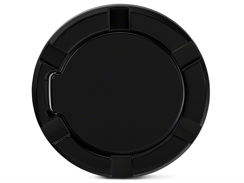 Modern Billet Non-Locking Striker Style Billet Fuel Door - Gloss Black (97-03 All)