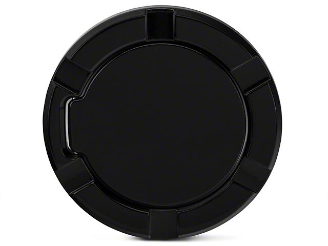 Modern Billet Striker Style Billet Non-Locking Fuel Door - Gloss Black (97-03 All)