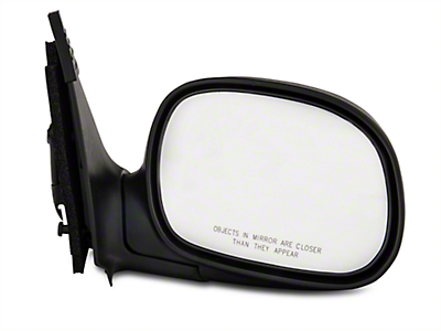 CIPA OE-Style Replacement Non-Heated Powered Foldaway Side Mirror w/ Black Cap - Passenger Side (97-02 All)