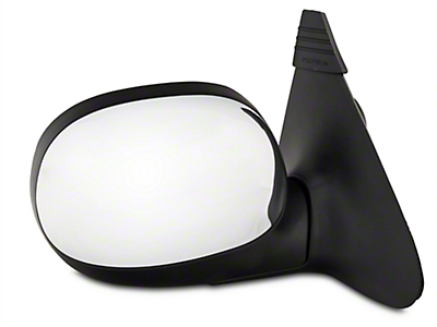 CIPA OE-Style Replacement Non-Heated Powered Foldaway Side Mirror w/ Chrome Cap - Passenger Side (1997 All)