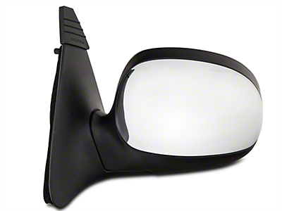 CIPA OE-Style Replacement Non-Heated Powered Foldaway Side Mirror w/ Chrome Cap - Driver Side (1997 All)