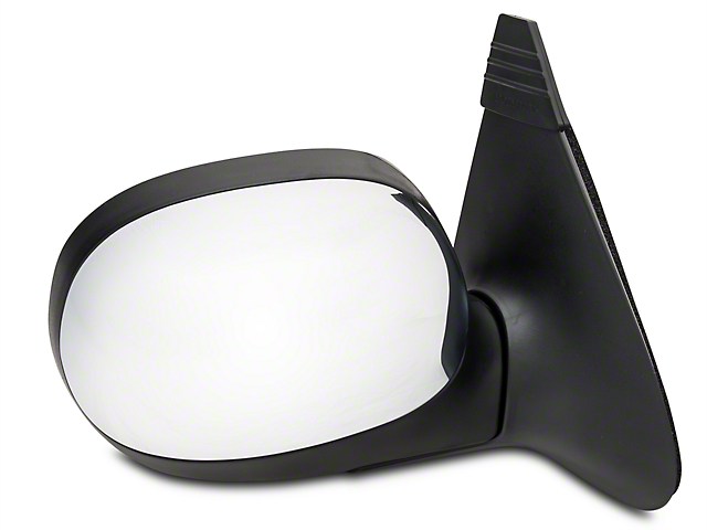 CIPA OE-Style Replacement Non-Heated Manual Foldaway Side Mirror w/ Chrome Cap - Passenger Side (97-03 All)