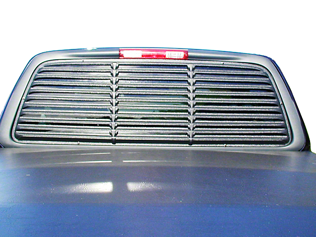 Willpak Low Profile Rear Window Louver - Sliding Window (97-03 All)