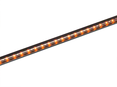 Recon 62 in. BIG RIG ICE LED Running Light Kit - Amber w/ White Courtesy Light (97-17 SuperCab, SuperCrew)